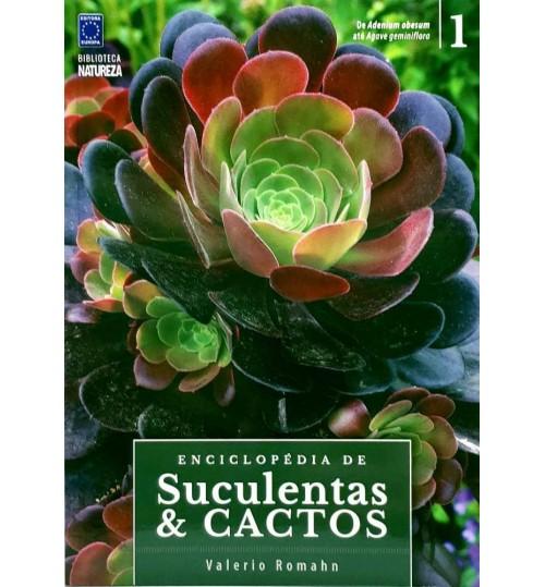 Livro Coleção Enciclopédia de Suculentas e Cactos - Volume 1