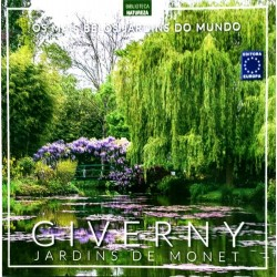 Livro Os Mais Belos Jardins do Mundo - Giverny Jardins de Monet