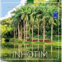 Livro Os Mais Belos Jardins do Mundo - Instituto Inhotim