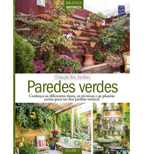 Revista Coleção Seu Jardim Volume 1: Paredes Verdes