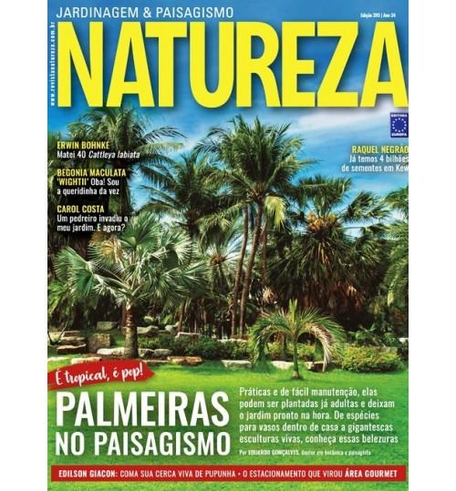 Revista Natureza - É tropical, é Pop! Palmeiras no Paisagismo N° 395
