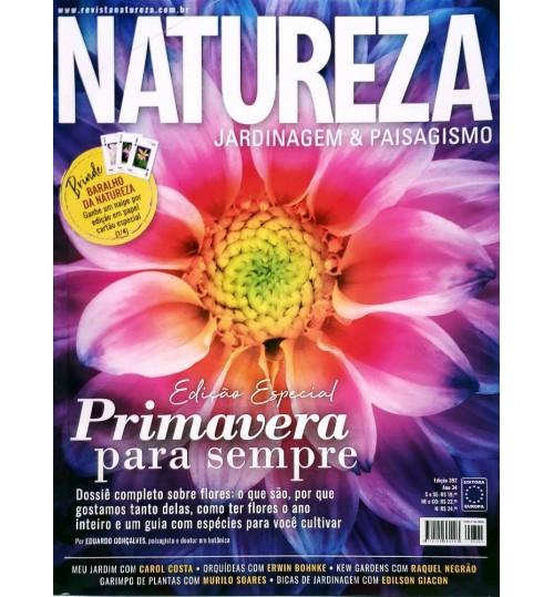 Revista Natureza Edição Especial Primavera para Sempre N° 392