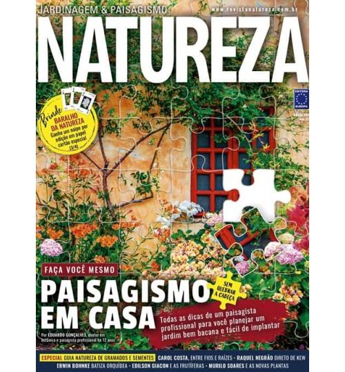 Revista Natureza - Paisagismo em Casa N° 394