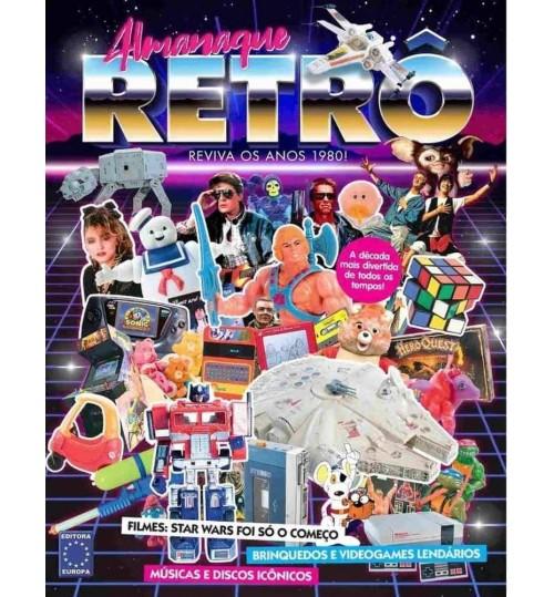 Livro Almanaque Retrô - Reviva os Melhores Momentos dos Anos 1980