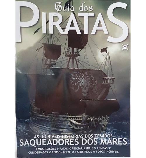 Revista Guia dos Piratas  As Incríveis Histórias dos Temidos Saqueadores dos Mares