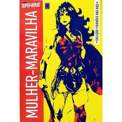 Livro Coleção Figurões das HQs - Mulher-Maravilha