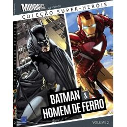 Livro Coleção Super-Heróis Volume 2: Batman e Homem de Ferro