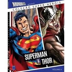 Livro Coleção Super-Heróis Volume 4: Superman e Thor