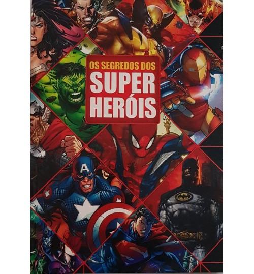 Livro Os Segredos dos Super Heróis
