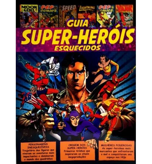 Revista Guia Super-Heróis Esquecidos