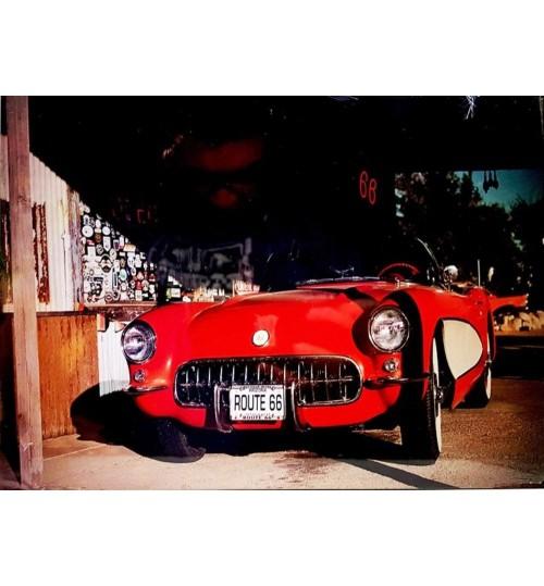 Quadro Retrô Corvette 1957