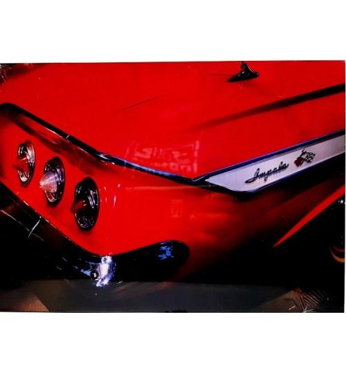 Quadro Retrô Impala 1960