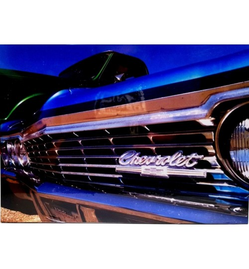 Quadro Retrô Impala 1966