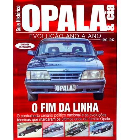 Revista Guia Histórico Opala & Cia O Fim da Linha 1990 - 1992