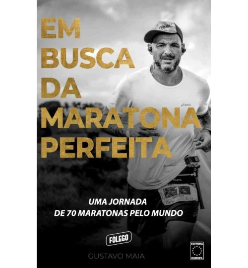 Livro Em Busca da Maratona Perfeita