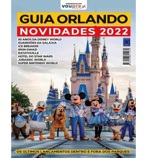 Livro Guia Orlando - Novidades 2022