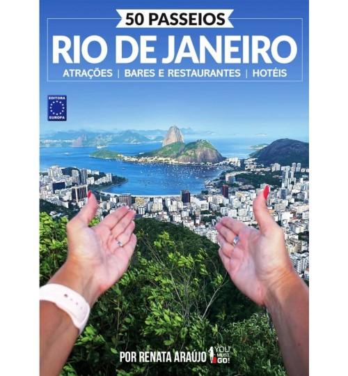Livro 50 Passeios - Rio de Janeiro