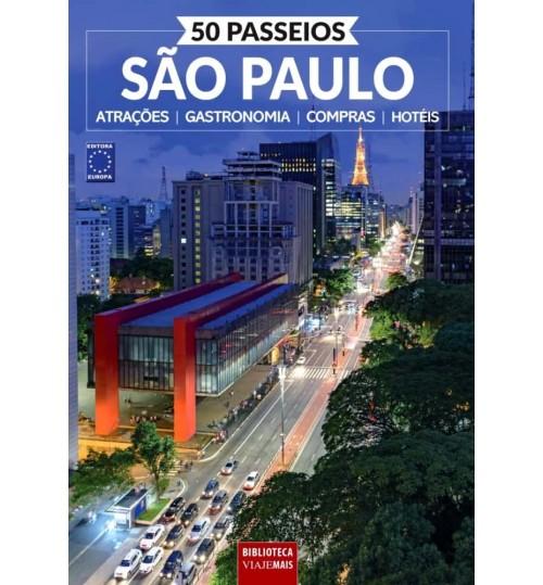 Livro 50 Passeios - São Paulo