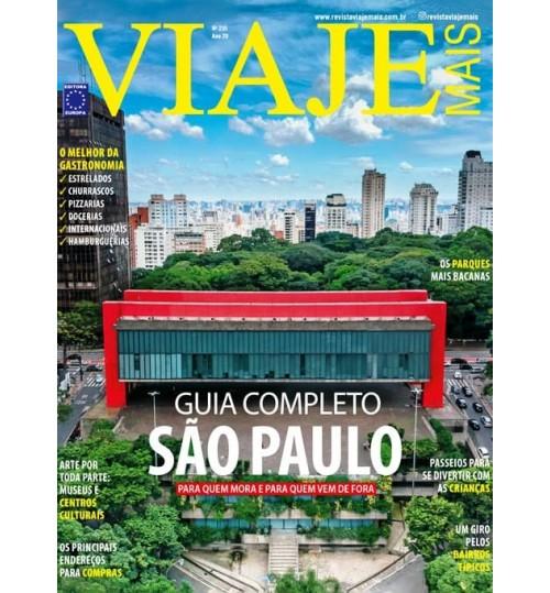 Revista Viaje Mais - Guia Completo São Paulo N° 235