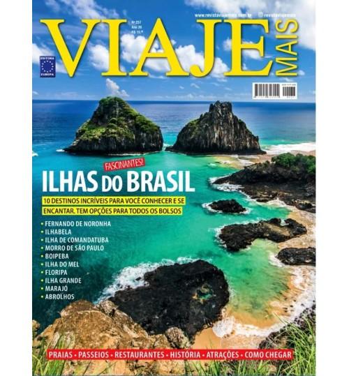 Revista Viaje Mais - Ilhas do Brasil N° 237