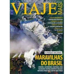 Revista Viaje Mais - Maravilhas do Brasil: 10 Parques Nacionais N° 238
