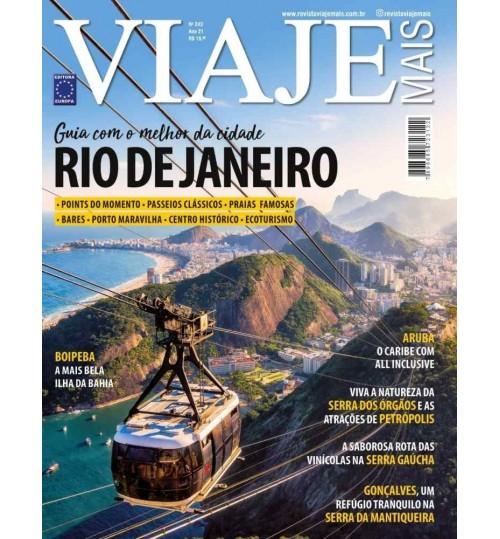 Revista Viaje Mais - Rio de Janeiro Guia com o Melhor da Cidade N° 243