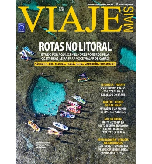 Revista Viaje Mais - Rotas no Litoral N° 236