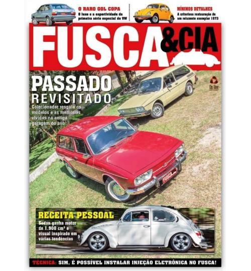 Kit com 2 Revistas Fusca & Cia N°131 e N°134