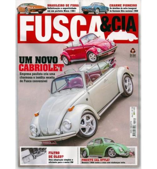 Kit com 2 Revistas Fusca & Cia N°132 e N°136