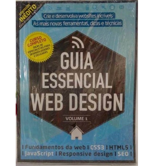 Kit Revista Guia Essencial Web Design + Revista Guia Introdução ao Wordpress