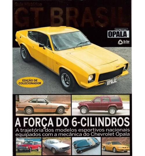 Kit Revista Guia Histórico GT Brasil + Revista Poster Opala & Cia Casamento de Estilos