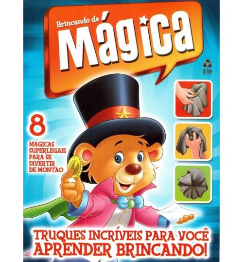 Livro Brincando de Mágicas