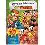 Livro de Adesivos Turma da Mônica com 400 Adesivos