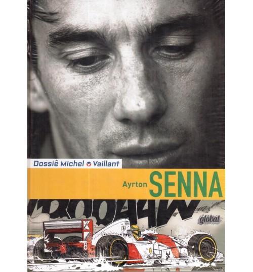 Livro Dossiê Michel Vaillant Ayrton Senna