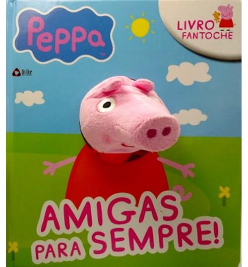 Livro Fantoche Peppa Amigos Para Sempre