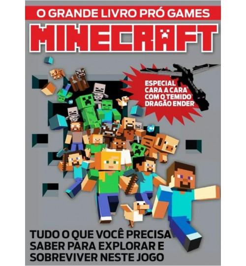 Livro O Grande Livro Pro Games Minecraft