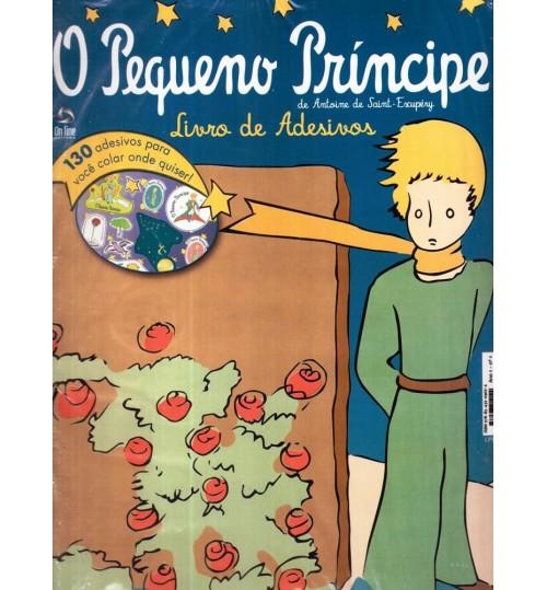 Livro de Adesivos 130 Adesivos O Pequeno Príncipe