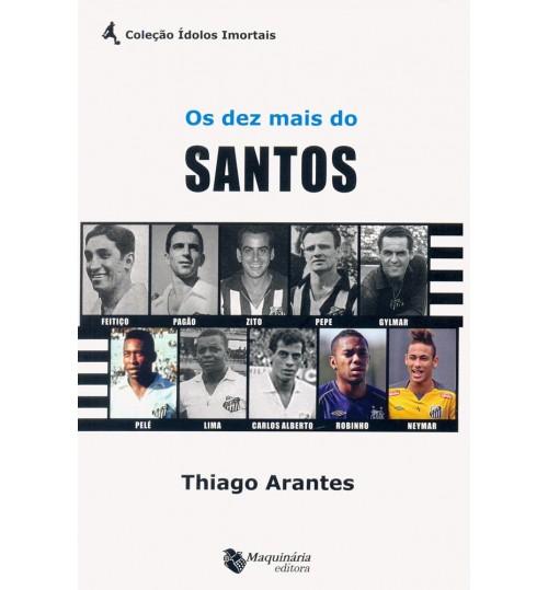 Livro Os Dez Mais do Santos