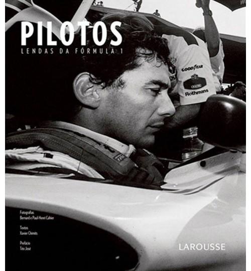 Livro Pilotos - Lendas da Fórmula 1