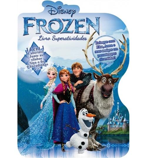 Livro Superatividades Frozen 14 em 1