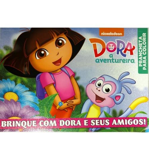 Prancheta para Colorir Dora A Aventureira