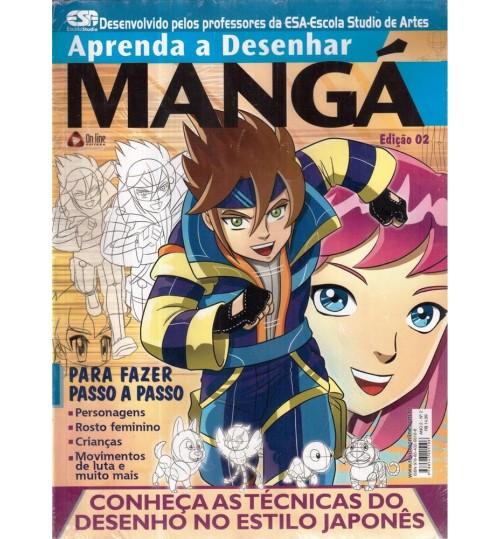 Revista Aprenda a Desenhar Mangá Edição 02