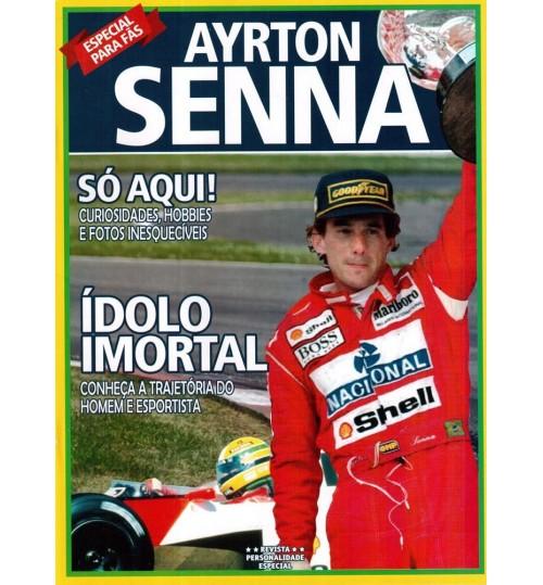 Revista Ayrton Senna - Ídolo Imortal