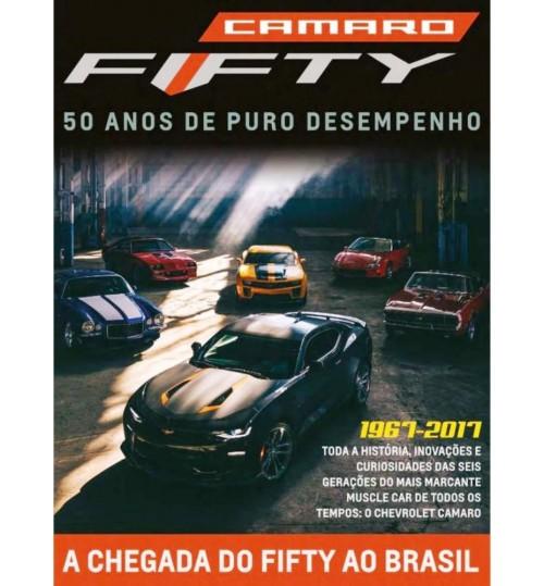 Revista Camaro Fifty 50 Anos de Puro Desempenho 1967 - 2017