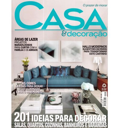 Revista Casa & Decoração 201 Ideias para decorar Nº 108