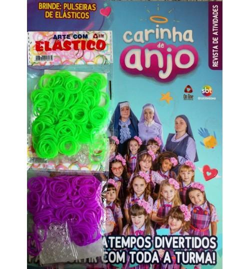 Revista de Atividades Carinha de Anjo com Elásticos Grátis