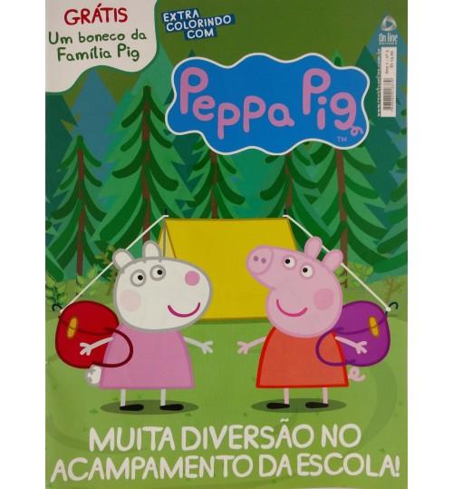 Revista de Atividades Especiais Peppa Pig com Miniatura Grátis