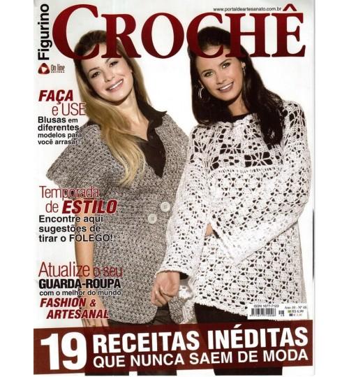 Revista Figurino Crochê Nº 48