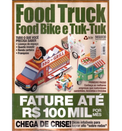 Revista Food Truck, Food Bike e Tuk Tuk