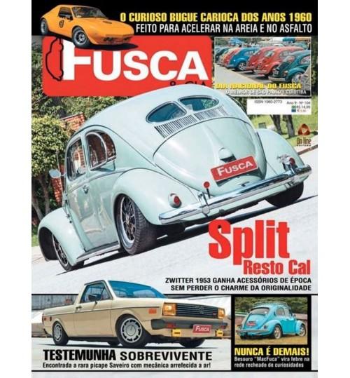 Revista Fusca & Cia N°104 Split Resto Cal